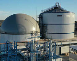 UTC біогаз, виробництво біогазу
